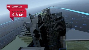 Formula 1 2010 - Track Simulation Montreal - Mark Webber
