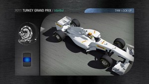 2011 Formula 1 Turkish GP - 3D Simulation