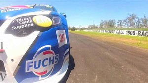 Tim Slade Gets First V8 Supercar Laps of 2012
