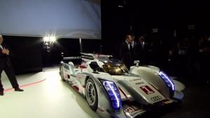 World premiere of the Audi R18 e-tron quattro