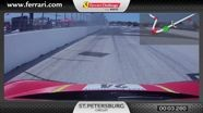 Ferrari 458 Challenge on-board camera: Carlos Kauffmann in St. Petersburg