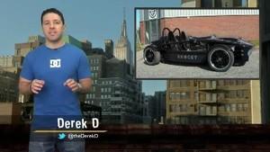 2013 Jaguar Engines, Hand-Built Wreck, New McLaren P12, & Road Rage tickets!