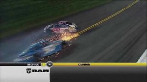 Second Caution of the Night - Daytona - 07/07/2012