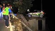 IRC Sanremo 2012 - Juho Hänninen crash
