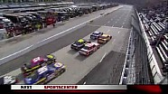 Aggressive Lap 104 Restart - Martinsville - 10/28/2012