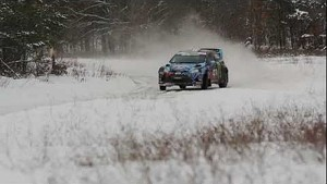 Sno*Drift Rally 2013 Fiesta Recap