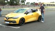 Mark Webber hits the track in Australia's first all-new Renault Clio RS 200