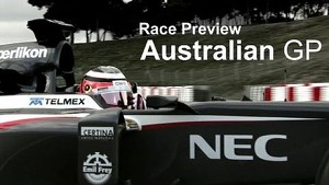 Race Preview - 2013 Australian GP - Sauber F1 Team