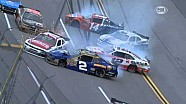 Sam Hornish Jr. starts huge wreck in NASCAR Nationwide series at Talladega - 2013