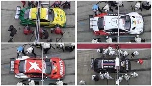 Pitstop comparison - DTM Race Red Bull Ring Spielberg