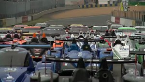 24 Hours of Le Mans test day ambiance