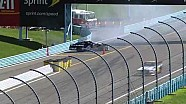 Bayne slides backwards almost onto pit road | Watkins Glen (2013)