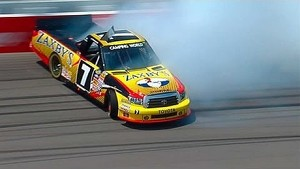 NASCAR John Wes Townley spins into the grass | Michigan International Speedway (2013)