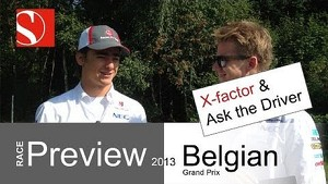 2013 Belgian GP - Race Preview / Ask the Driver - Sauber F1 Team