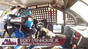 Dale Earnhardt Jr. in-car camera | Final Laps at Talladega