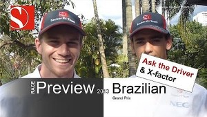 2013 Brazilian GP - Race Preview / Ask the Driver - Sauber F1 Team