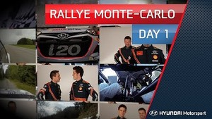 Rallye Monte-Carlo Day One - Hyundai Shell WRT 2014
