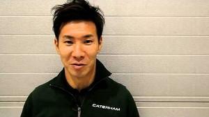 Kamui Kobayashi joins Caterham F1 Team for 2014