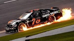 Drivers describe last lap Budweiser Duel crash