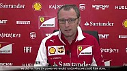 Australian GP - Stefano Domenicali about race