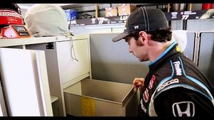 Let Simon Pagenaud take you on a tour of his lavish IMS office!