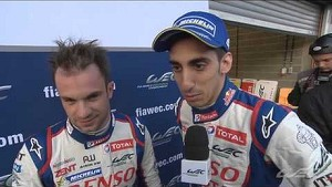 Interview with winners Nicolas Lapierre and Sébastien Buemi