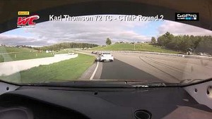 CTMP 2014 - Karl Thomson On Board Highlights of Round 2 TC