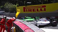 Ericsson & Massa collide during qualifying - Monaco GP