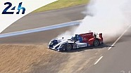 Le Mans 2014: Runway excursion during the warm-up for the Oreca 03R SMP RACING # 27
