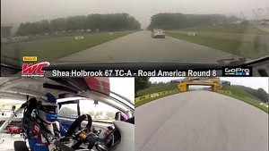PWC 2014 Road America On Board Highlights of Shea Holbrook Round 8 TC-A