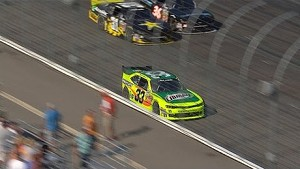 Menard hits wall after looking for payback