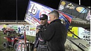 World of Outlaws STP Sprint Car Series Victory Lane from Junction Motor Speedway