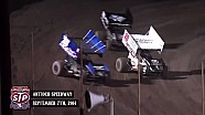 Highlights: World of Outlaws STP Sprint Cars Antioch Speedway September 7th, 2014