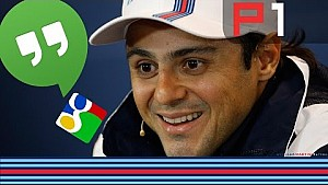 Felipe Massa live chat with fans on Google Hangouts