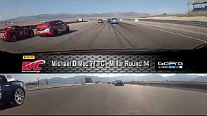 PWC 2014 Miller On Board Highlights of Michael DiMeo Round 14