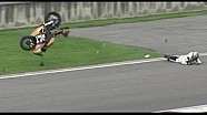 Yamaha R6 Crash Onboard