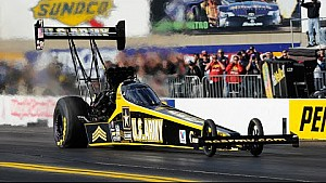 Tony Schumacher takes the top spot in Reading   NHRA