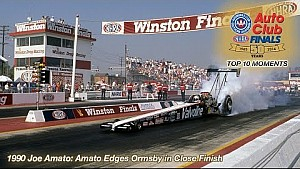 1990: Joe Amato edges Ormsby in close finish | Top Ten Finals Moment
