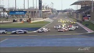 WEC 2014 - Bahrain Race Highlights