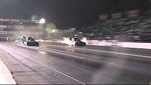 Alexis DeJoria is No. 1 after making this 3.998 sec pass in Pomona