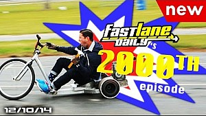 Fast Lane Daily 2000th Episode with Hennessey Performance! - Fast Lane Daily