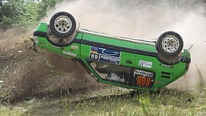 Scottish and British Rally Highlights 2014: crashes and maximum attack