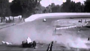 When Racers Where RACERS! Old Race Car Crashes