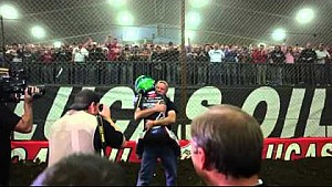 Rico Abreu closing laps with celebration 29th annual Chili Bowl