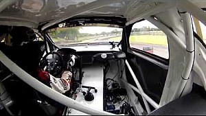 Lydden RX - ION Camera Petter Solberg Practice Onboeard- FIA World Rallycross Championship