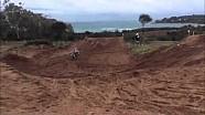 Ryan Villopoto training in Sardinia, Italy for MXGP