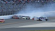 Kyle Busch Injured in Second Big One - Daytona - 2015 NASCAR Xfinity Series