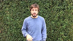 Fernando Alonso thanks for your support
