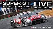 Super GT Full race! 2015 Rd.1 Okayama - English Commentary