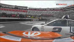 Penske teammates crash at Bristol - Keselowski & Logano